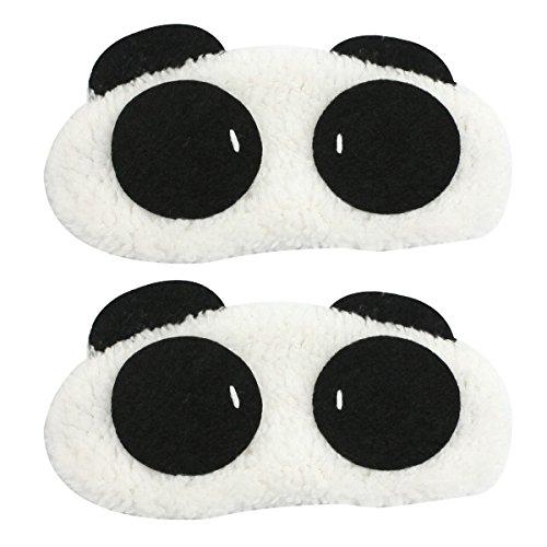 TOOGOO (R) 1X Panda Volto Viaggi di sonno di sonno Eye Mask (Sonno Eye Mask)