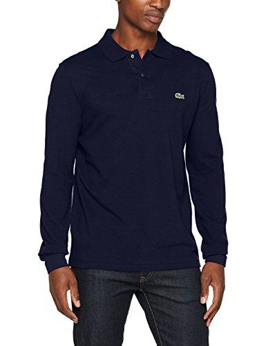 Lacoste L1312-00 Herren Poloshirt,Blau (Marine), Gr.XX-Small (Herstellergröße: 2) (Marine-blau-t-shirt Klassiker)