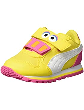 Puma Unisex-Kinder Sesame Str St Runner Big Bird Hoc V Inf Low-Top
