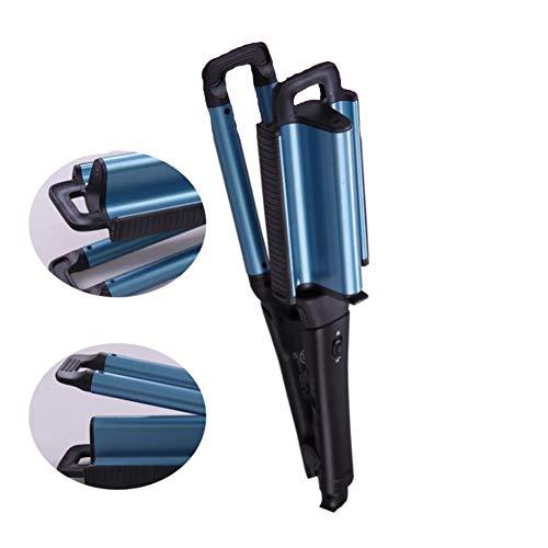 Rizador de pelo eléctrico profesional herramienta de peluquería con placa cerámica,Blue
