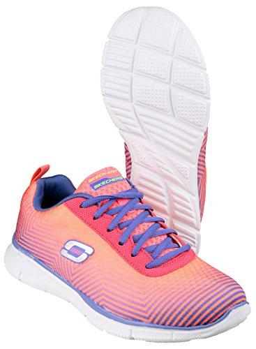 Sk12034 des Skechers attendre de Miracles Ladies Sport chaussure Rose / violet