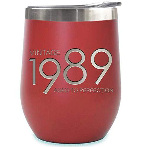 Sodilly isolierte tubler Geschenk 1998 rot 12 unzen.