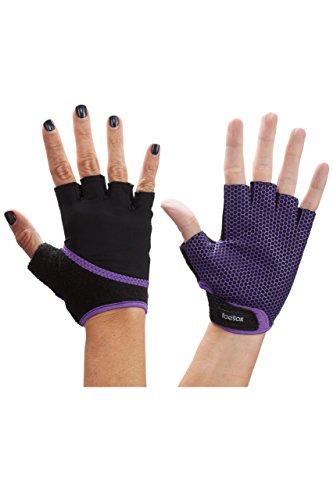 hommes-et-dames-1-paire-toesox-yoga-half-finger-grip-gants-violet-clair-s