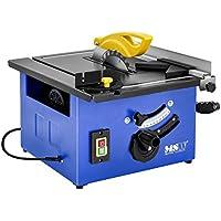 MSW Sierra circular de mesa Mesa de corte C-SAW210 (4.500 rpm, 2.280 W, Profundidad hasta 45 mm, Alta precisión, Deslizador para corte de 45 grados)