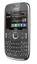 Nokia Asha 302 (Dark Grey)