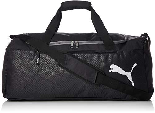 c9743e27d Puma Fundamentals Sports Bag L, Borsa Unisex-Adulto, Nero Black, Taglia  Unica