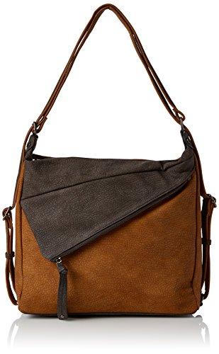 Swanky Swans - Finley Convertible Strap Rucksack, Bolsos mochila Mujer, Brown (Tan), 19.6x31x35 cm (W x H L)