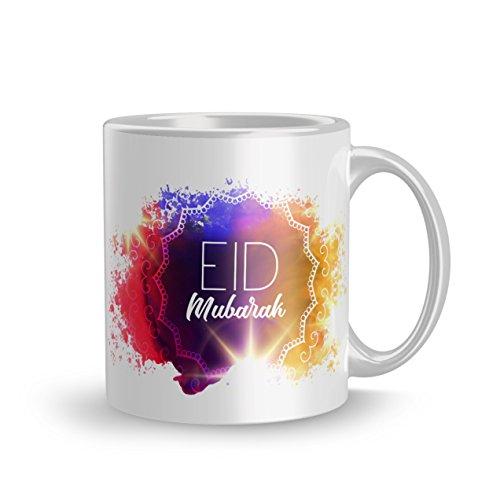 Dreamcart Designer 320ml Ceramic Printed mug Gift For elder sister Eid Mubarak...
