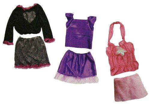 Idena 8230097 - Verkleidungskiste Disco, 16-teilig, Gröߟe 128, (Kids Ideen Rock Star Kostüm)