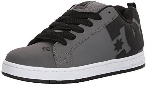DC Shoes Men\'S Court Graffic Low Top Shoes Gray 11