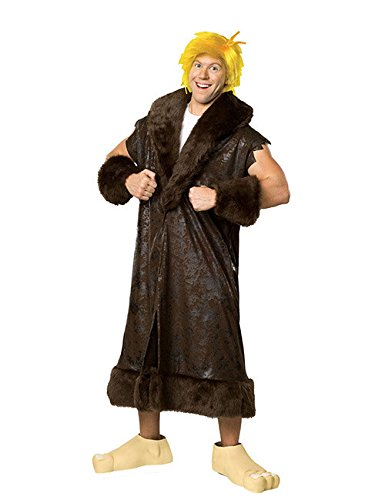 The Flintstones Barney Geröllheimer Kostüm braun beige - Barney Rubble Flintstones Für Erwachsene Kostüm