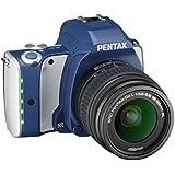 Pentax K-S1 SLR-Digitalkamera (20 Megapixel, 7,6 cm (3 Zoll) TFT Farb-LCD-Display, ultrakompaktes Gehäuse, Anti-Moiré-Funktion, Empfindlichkeit bis zu ISO 51200, Full-HD-Video, Wi-Fi, HDMI) Kit inkl. DAL 18-55 Objektiv Denim Blue