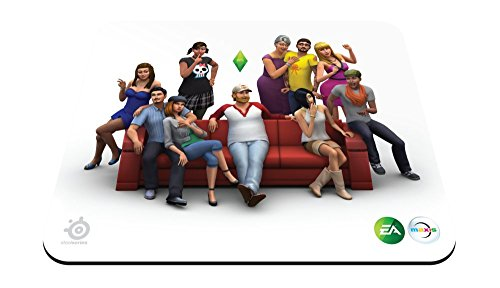 steelseries qck the sims 4 edition 67292 - mouse pad - 41OzNInwCJL - SteelSeries Qck The Sims 4 Edition 67292 – Mouse pad
