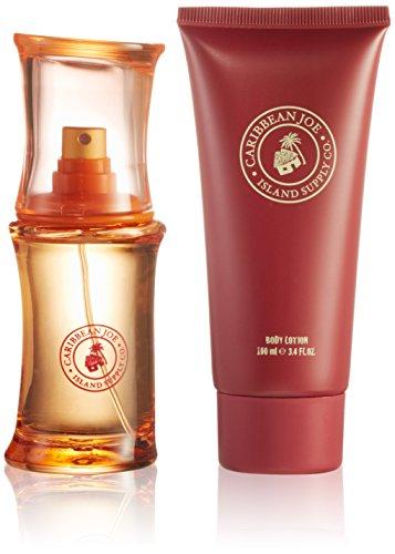 first-american-brands-caribbean-joe-50ml-eau-de-toilette-100ml-korperlotion-geschenkset-fur-sie-1er-