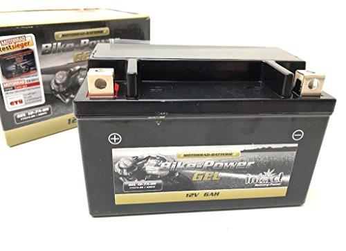 12V 6Ah Gel Power Batterie Akku YTX7A-BS (151 x 87 x 94 mm) für Roller