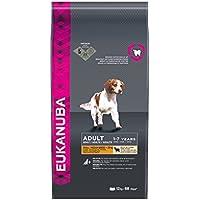 Eukanuba Premium Hundefutter mit Lamm & Reis, Trockenfutter für sensible Hunde kleiner und mittelgroßer Rassen (1 x 12 kg)