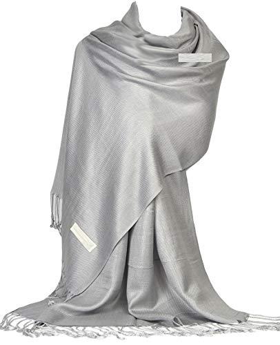 Gfm avvolgere la sciarpa di stile di pashmina delle donne(drv)(b9-205-hj-28-ch)
