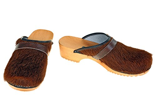 berlin-clogs Lack Clog, Farbe: gold, Groesse: 40