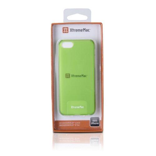 XtremeMac IPP-MLCP-53 Microshield Schutzhülle Schutzhülle für Apple iPhone 5c grün Grün