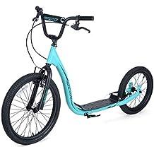 Osprey Unisex para Bicicleta BMX Scooter Todo Terreno, Azul, M