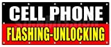 """Best Partial Repair Kits - SignMission 48""""x120"""" CELL PHONE FLASHING UNLOCKING BANNER SIGN Review"""