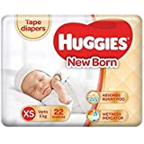 Huggies Ultra Soft Pants Diapers, XS (Pack of 22)