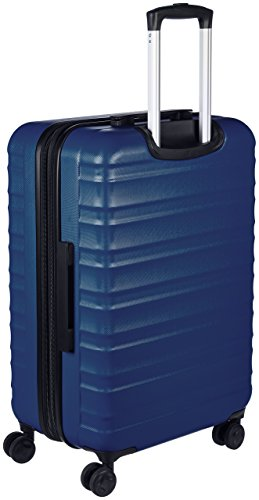 AmazonBasics Hartschalen-Trolley - 68 cm, Marineblau - 3
