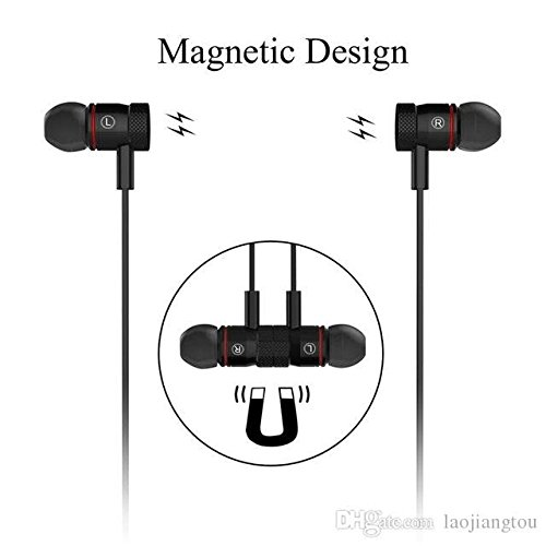 76ce0f45ee5 78% OFF on mobicell Magnetic Bluetooth Attractive Headphone with Integrated  Neckband, Hands-Free Mic and Controlling Buttons with Magnetic Earbuds on  Amazon ...