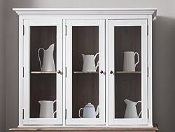 Canterbury Dresser Top in White and Dark Pine Noa & Nani