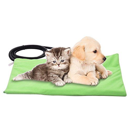 Pet Heizkissen für Katzen Hunde, IP67Pet Heizmatte Wasserdichte E Indoor Outdoor Automatische konstante Temperatur