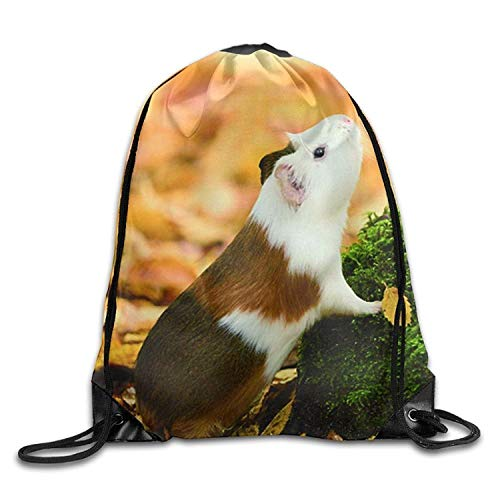 MaJack Love Meerschweinchen-Rucksack mit Kordelzug, Unisex, Reisetasche