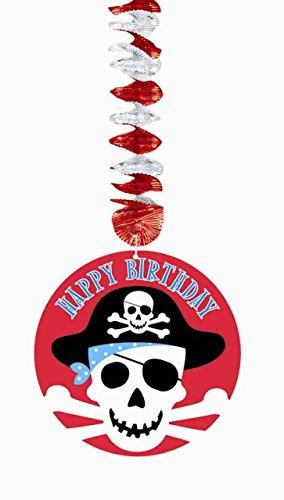 Hängende Decken-Deko * PIRATEN * für Kindergeburtstag // 138221 // Kinder Geburtstag Party Deko Hanging Cutouts Pirates Freibeuter Piratenschiff Totenkopf