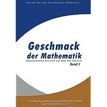 Konzentrieren Sie sich auf das Set Theory (Band 2): Geschmack der Mathematik