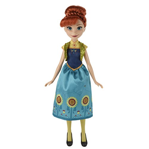 skönigin B5166ES2 - Disney Die Eiskönigin Party-Fieber Anna, Puppe ()