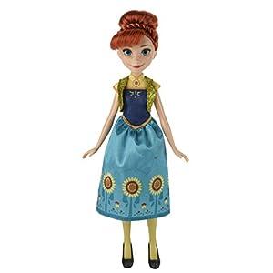 Hasbro Disney La Reina de Hielo B5166ES2 - Disney El Hielo Reina de la Fiesta Fiebre Anna, muñeca