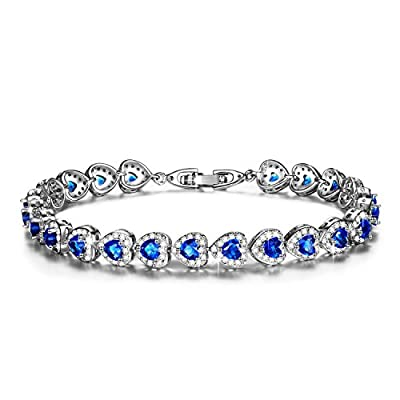 """Pauline & Morgen """"Starry Love"""" Heart Crystal Women Bracelet. Its impeccable craftsmanship will make the perfect gift for someone you care about. It is timeless, just like your love for her!"""