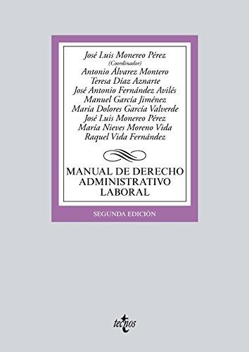 Manual de derecho administrativo laboral (Derecho - Biblioteca Universitaria De Editorial Tecnos)