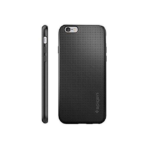 Coque iPhone 6s, Spigen Coque iPhone 6 / 6s [Capsule] SOFT-FLEX - [Noir] Etui TPU Premium Soft Flexible TPU / Ultra Grip - Noir (SGP11751)