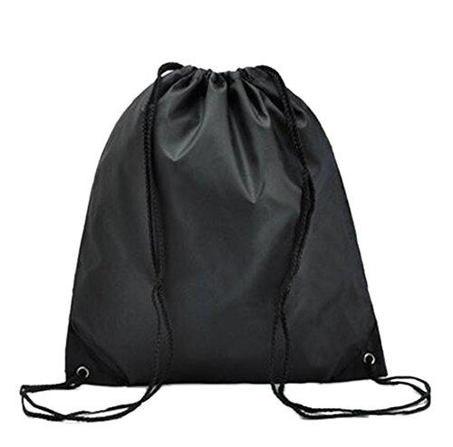 DD UP Unisex Turnbeutel Sportbeutel Klassische Sporttaschen Rucksäcke & Taschen Black