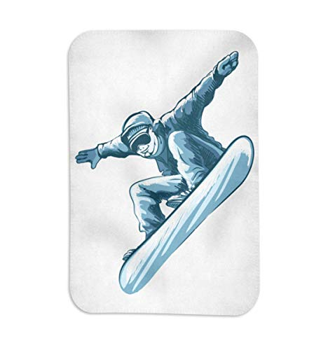Snowboarder in Action, I love Snowboarding, Snowboard T-Shirt, Wintersport, Ski Alpin, Kiteboard,...