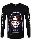 Photo de Kiss T-Shirt à Manches Longues Ace Freheley Homme Noir par Kiss