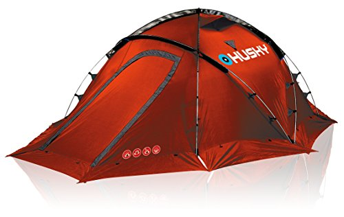 Husky FIGHTER 3-4 Extrem Zelt für 3-4 Personen Rot
