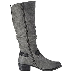 Stiefel Grau