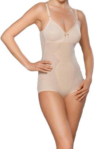 Shapewear Damen Fest Im Griff (Naturana 3030 Schlichtes Corselette Body sanft formend Haut 90 B)