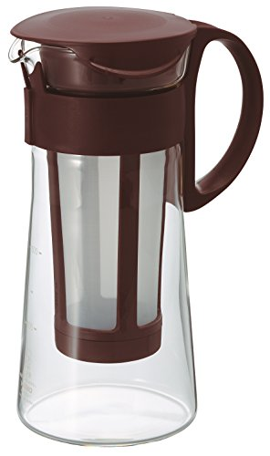 Hario Mizudashi mini MCPN-7CBR - Cafetera de infusión (600 ml), color marrón