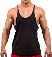 OTW Mens Fitness Bodybuilding Athletic T-Shirt Blouse Tank Tops