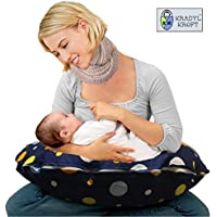 Kradyl Kroft 5in1 Baby Feeding Pillow with Detachable Cover (Magic Polka)