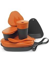 Light My Fire Essgeschirr Set Mealkit 2.0 für die Pause Camping und Outdoor - Plato para acampada, color naranja
