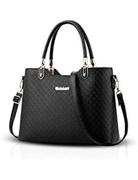 NICOLE&DORIS Elegant Damen Handtaschen Umhängetasche Damenhandtaschen Henkeltaschen Schultertaschen Crossbody PU