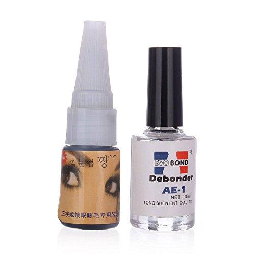luckyfine-professionnel-set-de-colle-adhesif-noir-dissolvant-pour-faux-cils-eyelashes-extension